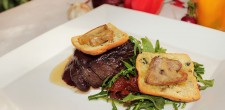 Beef fillet in rossini style