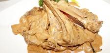 Lamb-chops-in-porccini-musroom-sauce