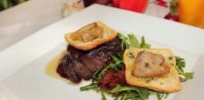 Beef fillet in rossini style